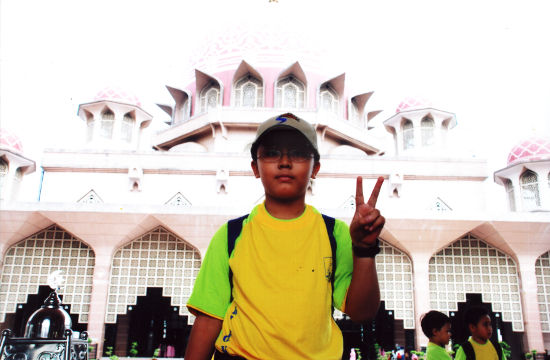 Before the Putrajaya Mosque