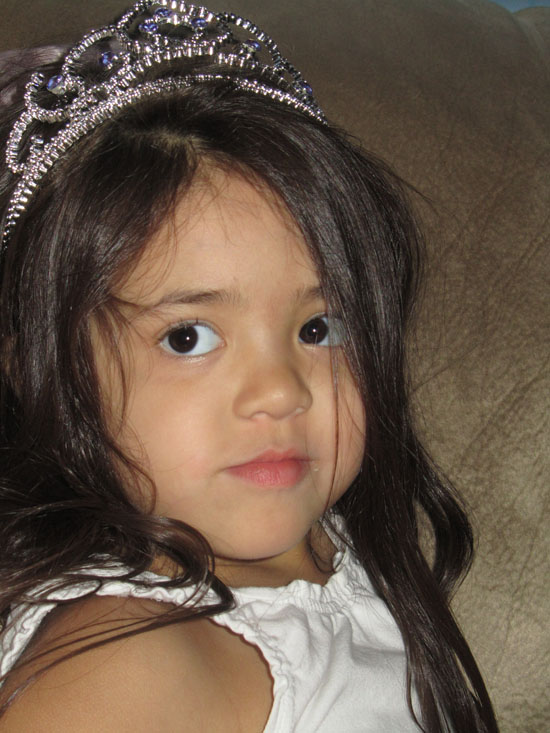 Princess Yaya is almost 4