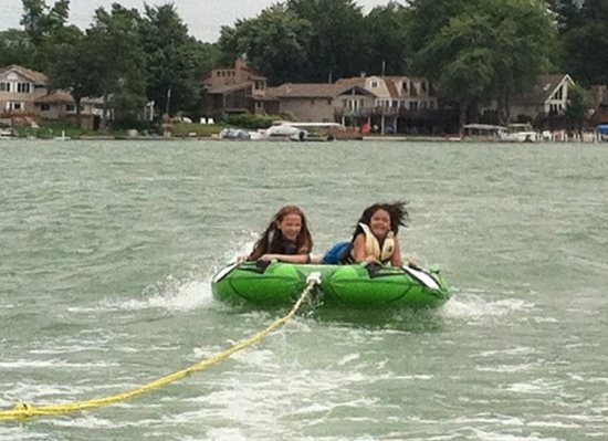 Yaya and Grace go fast!
