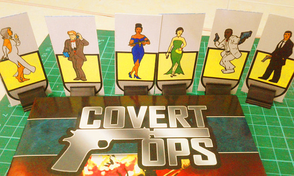 Use Covert Ops to run because I also did art for DWD Studios!