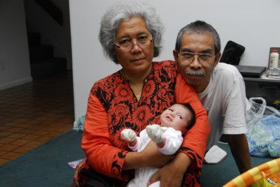 Tok and Opah with Allie
