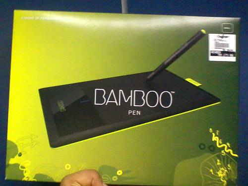 The box too wasn't made of bamboo