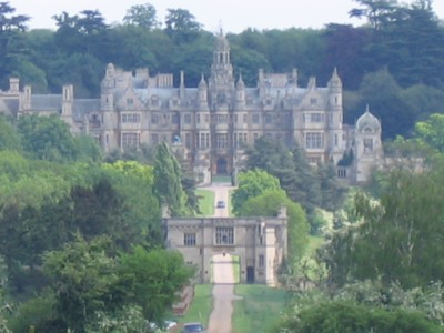 Harlaxton Manor - from a distance