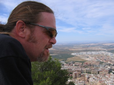 Vin marveling at the growth of Jaen
