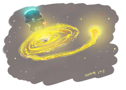 What does God need with a black hole?
