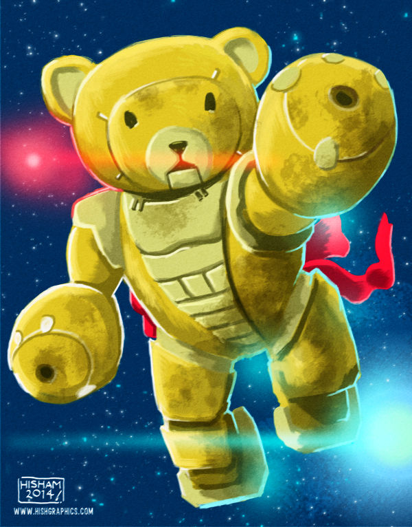 Maybe Cindy Bear can pilot this mecha