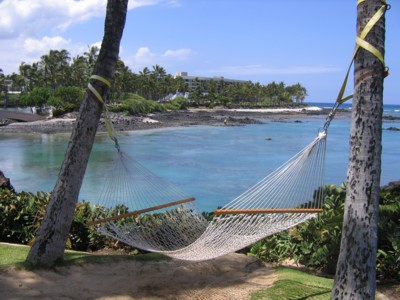 Fantastic hammock location