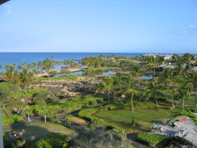 View from the Marriott lanai