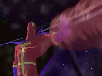Red Tornado In Action!