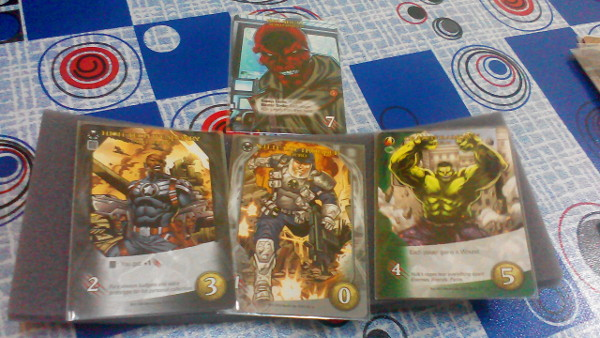 Nick Fury, a SHIELD Trooper and the Hulk took the Red Skull out