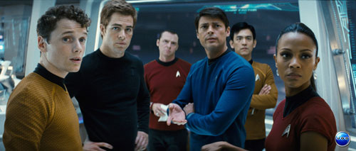 The whole gang is here except Sylar... and Chekov's mop top.