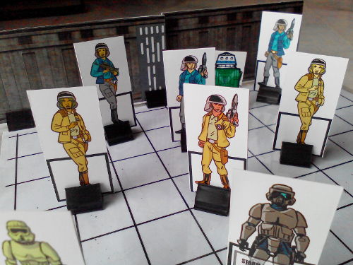 Now you can have running firefights with Rebel paperminis!