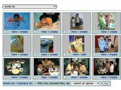 Manage Media - Thumbnails