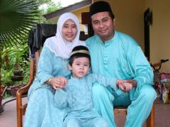Irfan, Abah and Ummi