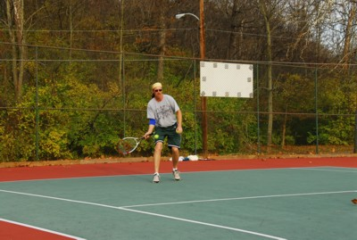 Back to the forehand